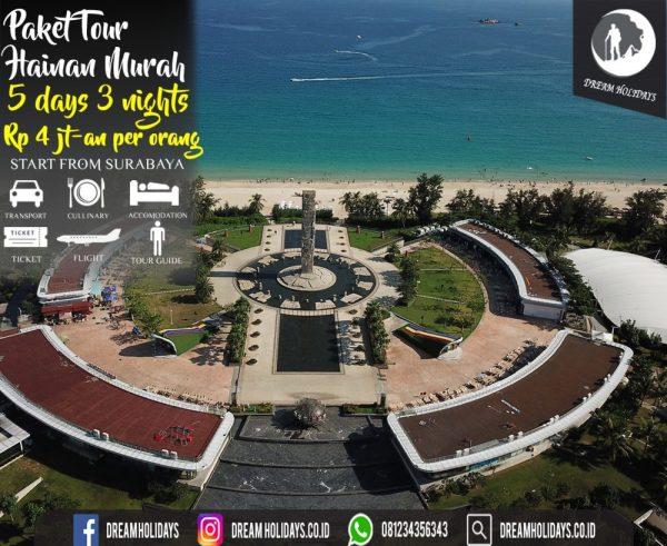 Paket Tour Hainan Murah