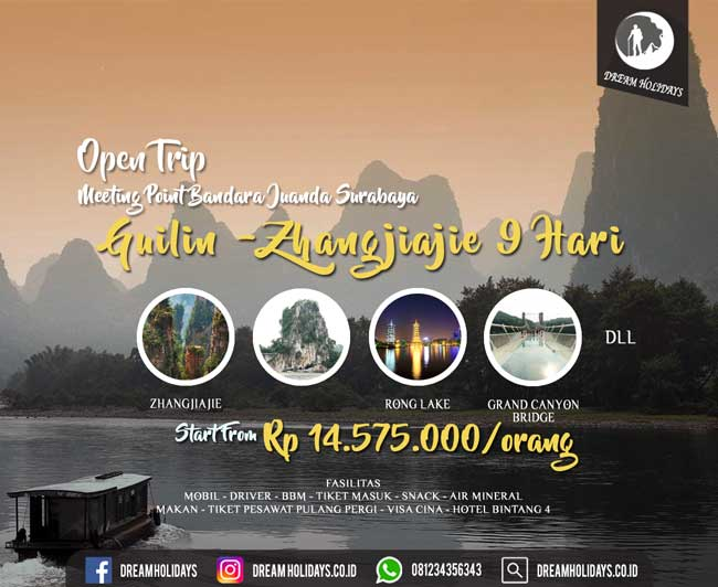 Open Trip Guilin