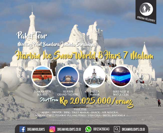 Paket Tour Harbin China
