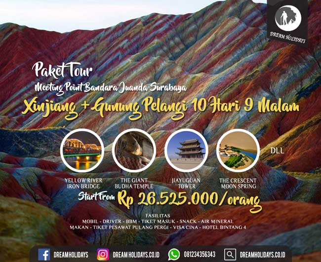 Paket Tour Silk Road