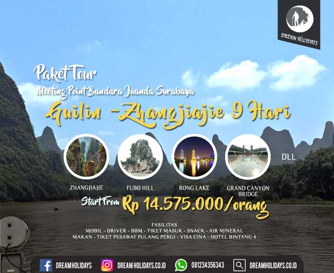 Paket Tour Guilin