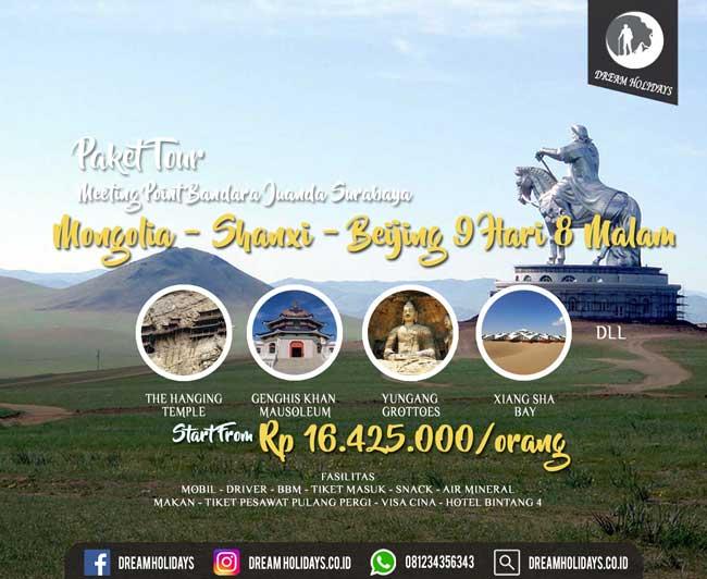 paket Tour Mongolia