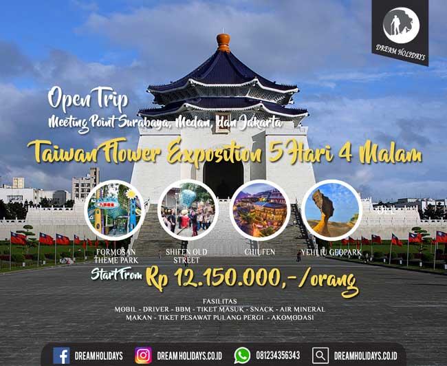 open trip taiwan