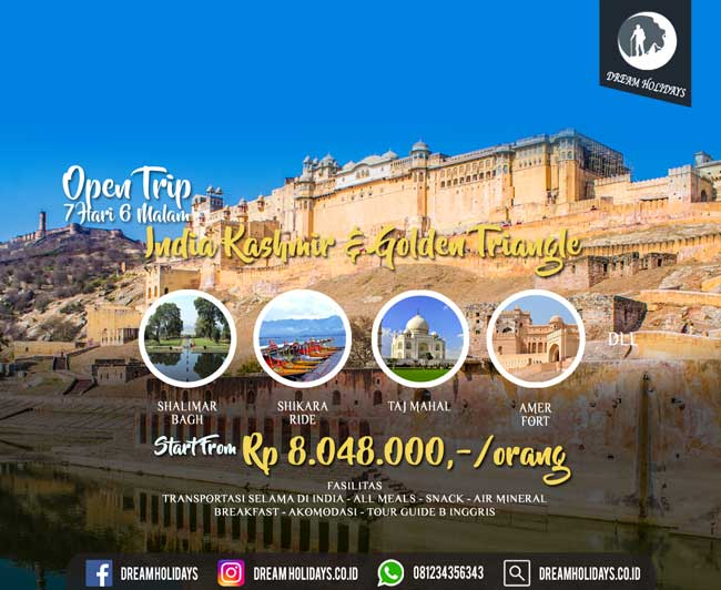 Open Trip India Kashmir & Golden Triangle