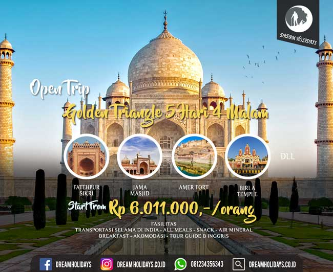 Open Trip India Golden Triangle