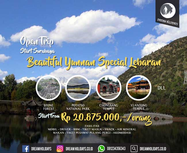Open Trip Beautiful Yunnan Special lebaran