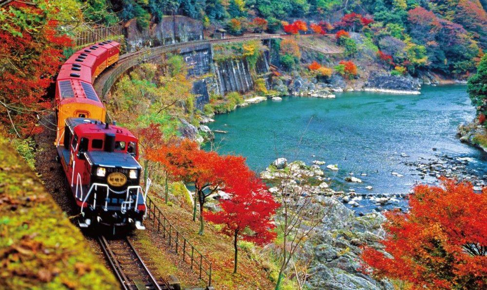 Kereta Wisata Sagano - Arashiyama
