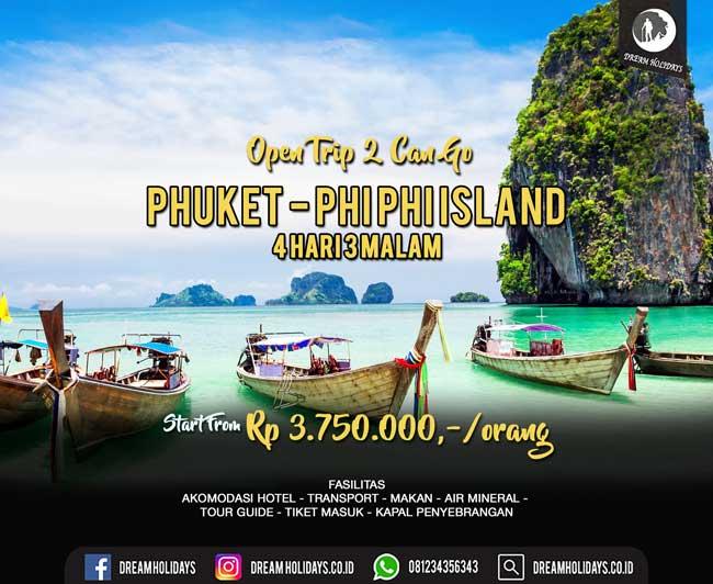 Open trip Phuket Phi Phi Island