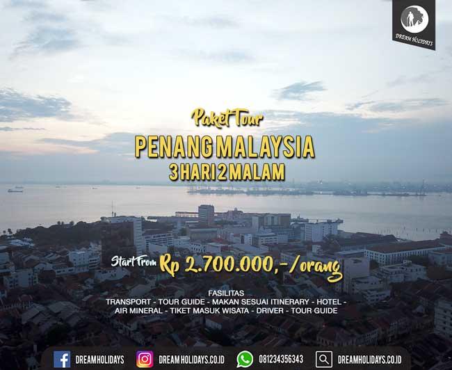 Paket Tour Penang Start Surabaya