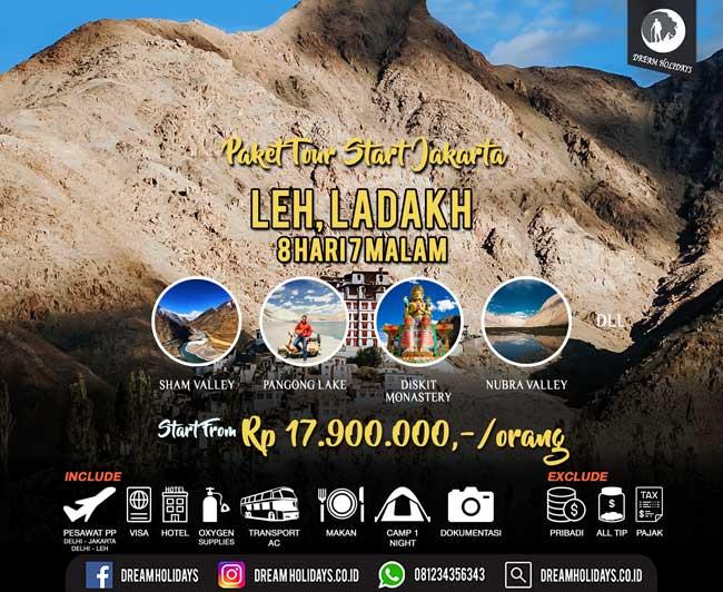 Paket Tour Ladakh