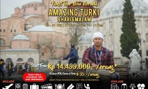 Paket Tour Turki Akhir Tahun