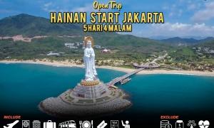 open trip hainan start jakarta