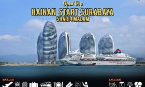 open trip hainan start surabaya