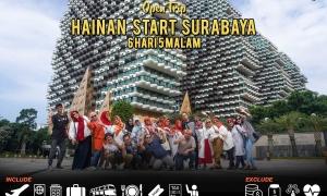 open trip hainan start surabaya 6 hari