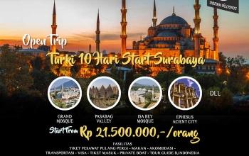 open trip turki surabaya