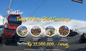 paket tour turki start surabaya