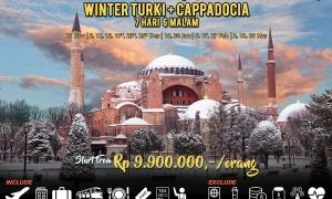 paket tour turki start jakarta
