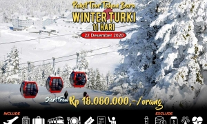 Paket Tour Winter Turki