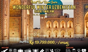 Paket Tour Uzbekistan