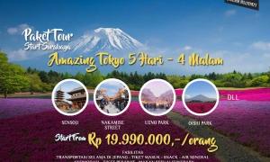 Paket Tour Jepang Start Surabaya
