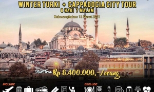 Paket Tour Winter Turki 2021