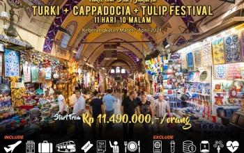 Paket Tour Turki 11 hari