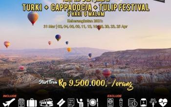 Paket Tour Turki 7 hari